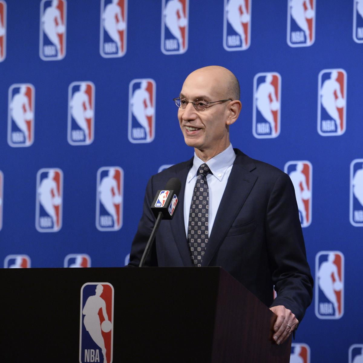 Adam Silver Says Warriors' Dominance Not 'Per Se Bad' for NBA