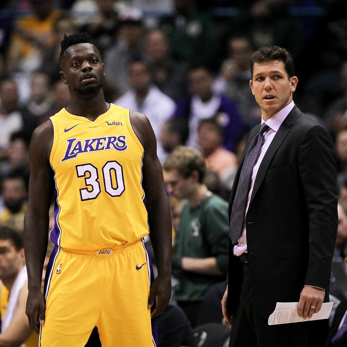 Lakers News: Luke Walton 'Not Up at Night Wondering' About Julius Randle's Exit