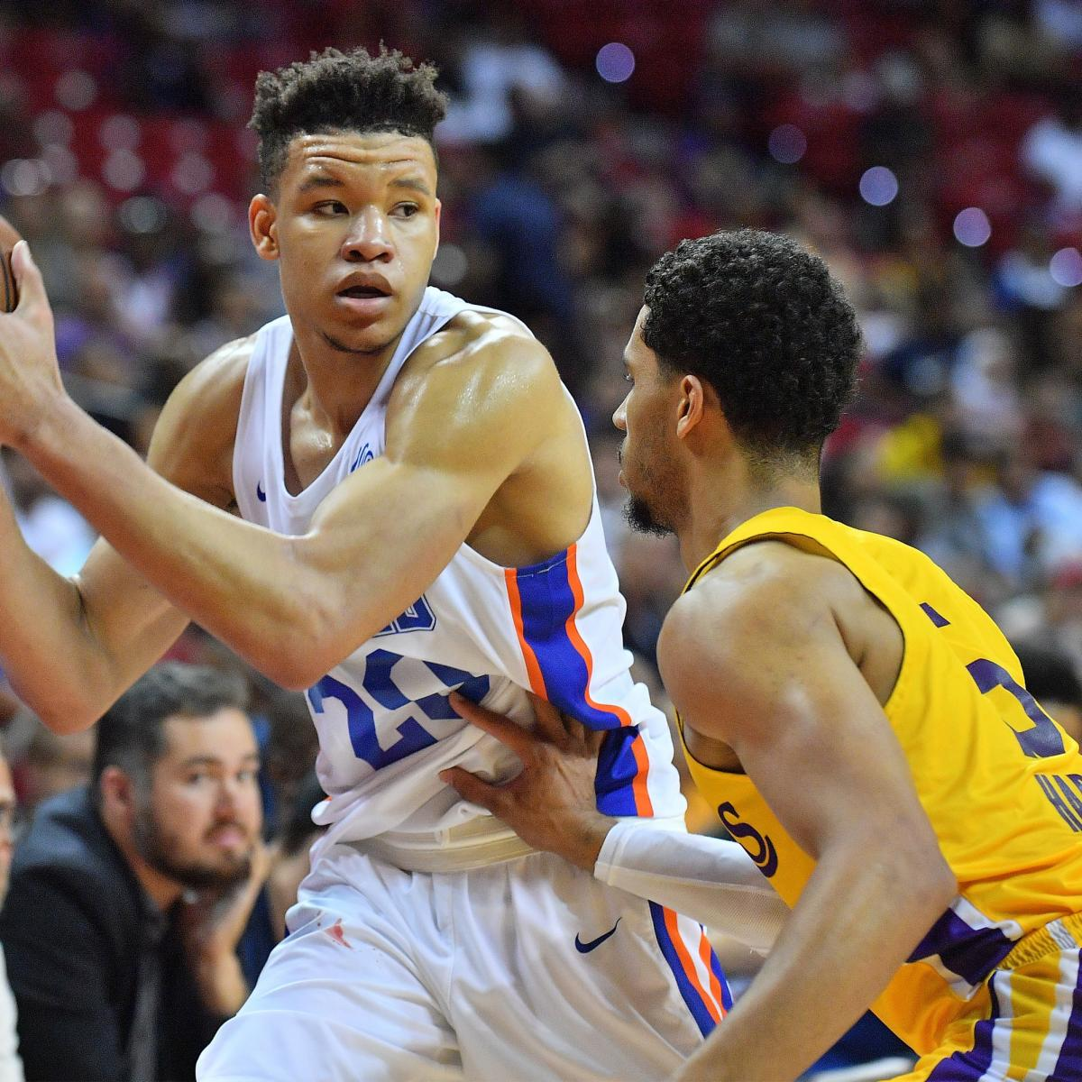 Summer-League Stud Kevin Knox Could Really Be a Star for New York Knicks