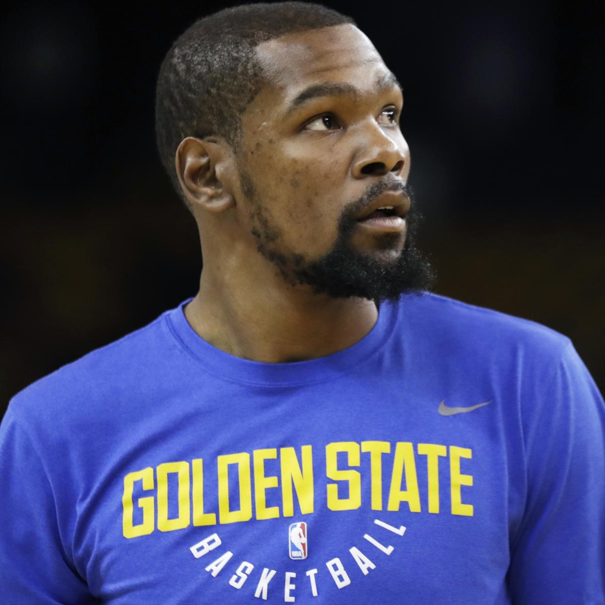 Kevin Durant Rumors: Knicks to Pitch Warriors Star When He Hits Free Agency