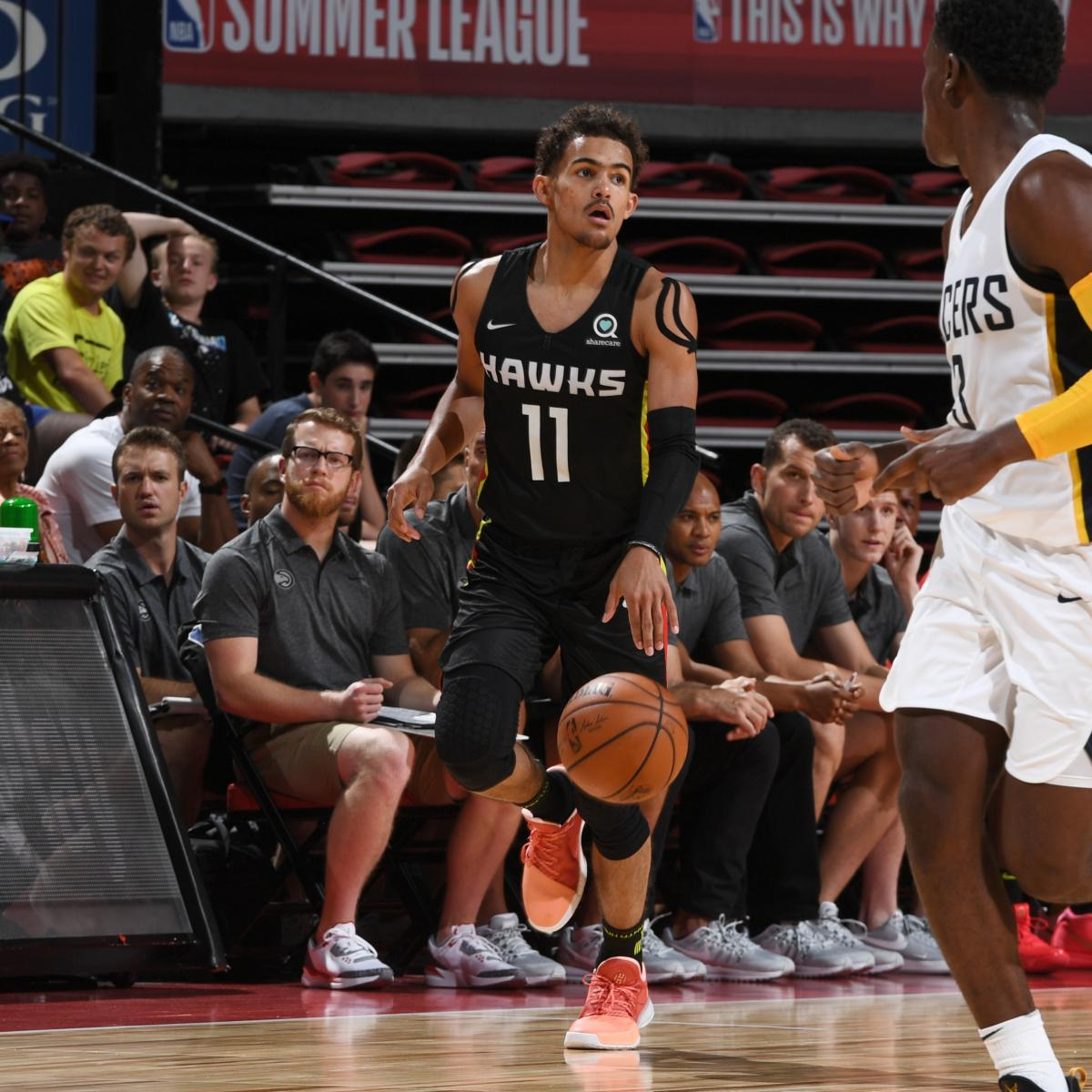 NBA Summer League 2018: Thursday Schedule, Latest Las Vegas Bracket and Stats