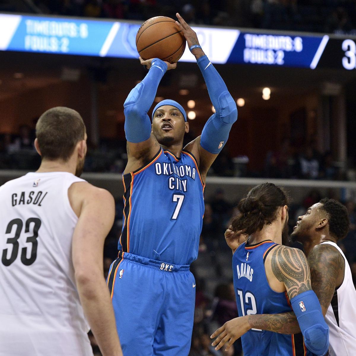 NBA Trade Rumors: Latest Buzz on Carmelo Anthony, Kawhi Leonard, More