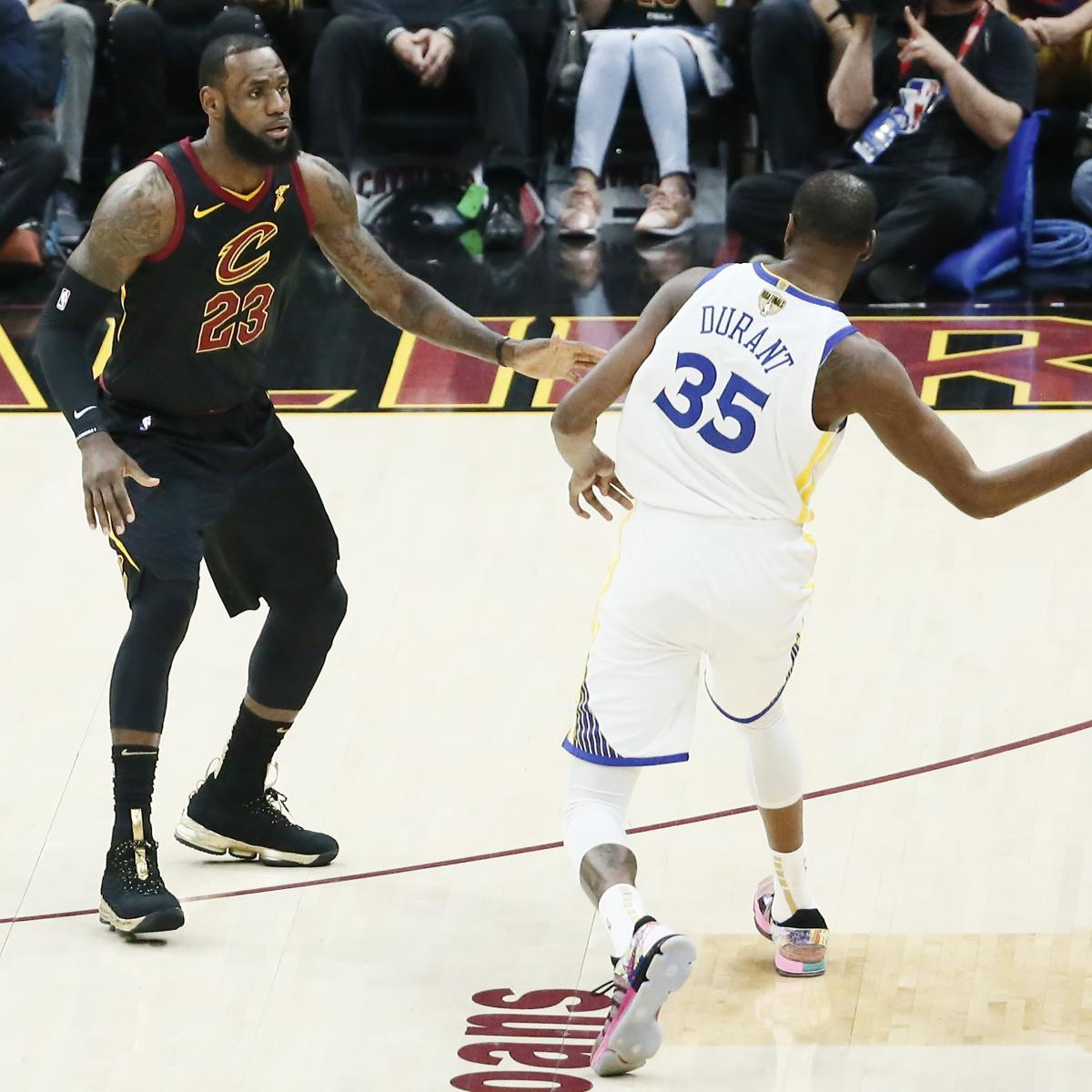 Zach Lowe: Kevin Durant Needs to Sign with Lakers to Even the Field for LeBron