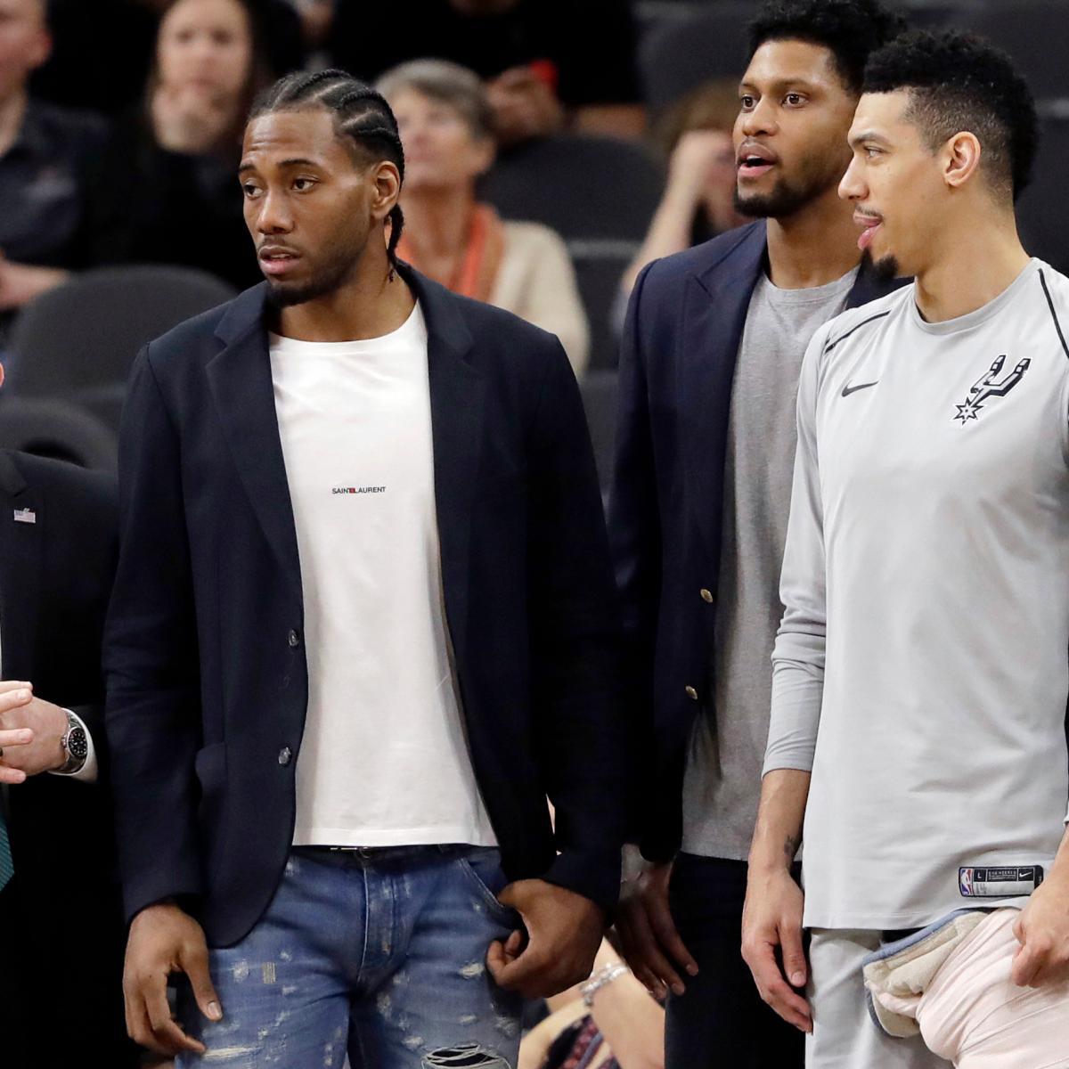 Kawhi Leonard Odds: Raptors Favored to Land Spurs Star Ahead of Next Season