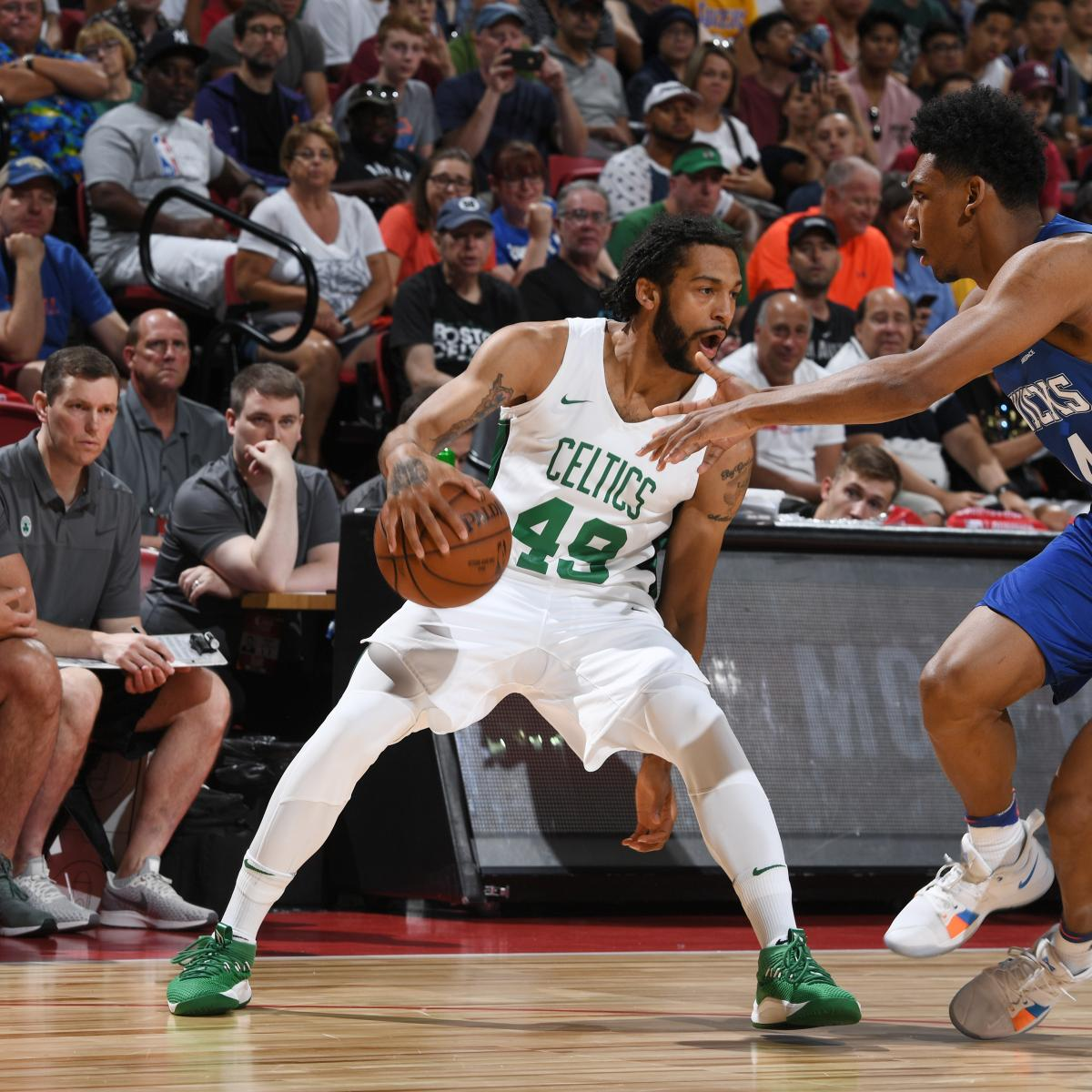 NBA Summer League 2018: Scores and Highlights from Thursday's Las Vegas Results