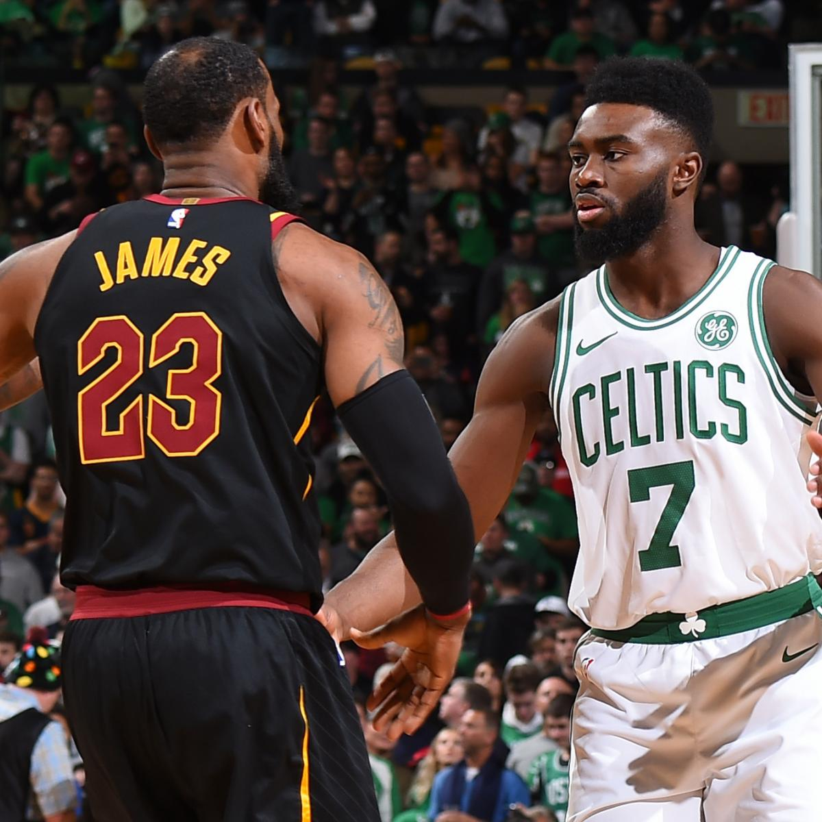 Jaylen Brown Wanted Celtics 'To Be the Team That Went Through' LeBron James