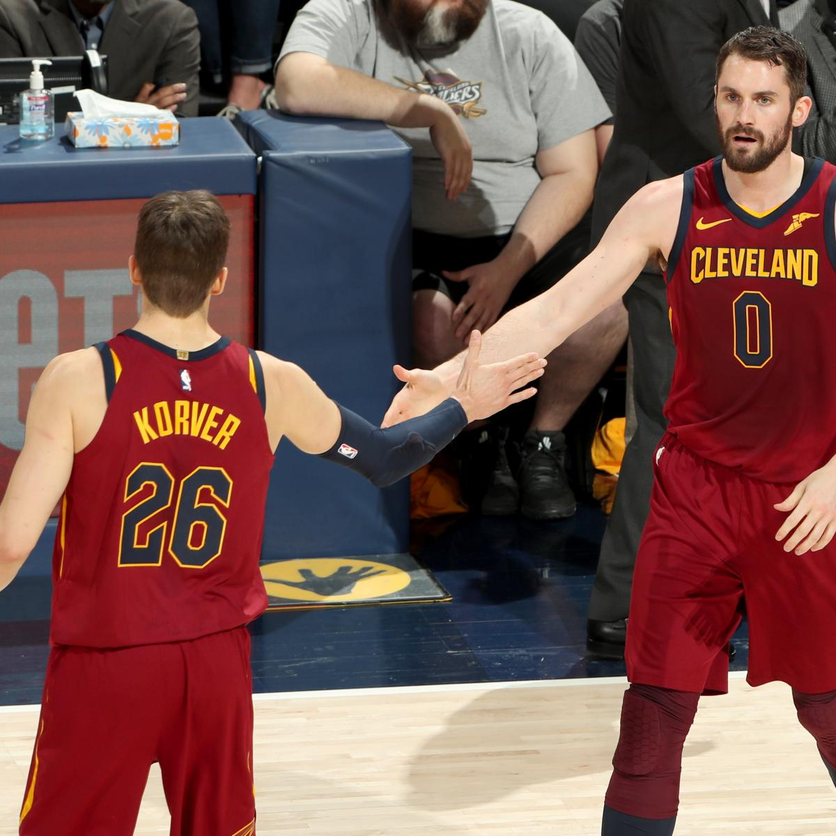 Cavaliers Trade Rumors: Cleveland Open to Dealing Kevin Love, Kyle Korver, More