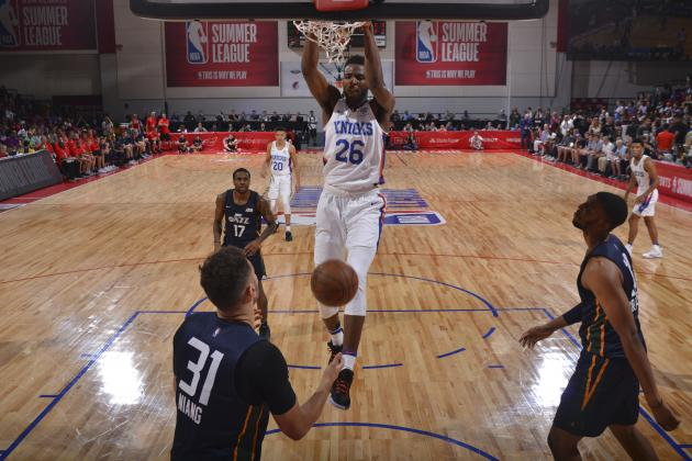 NBA Summer League: Mitchell Robinson Dominates Both Ends in Knicks Win