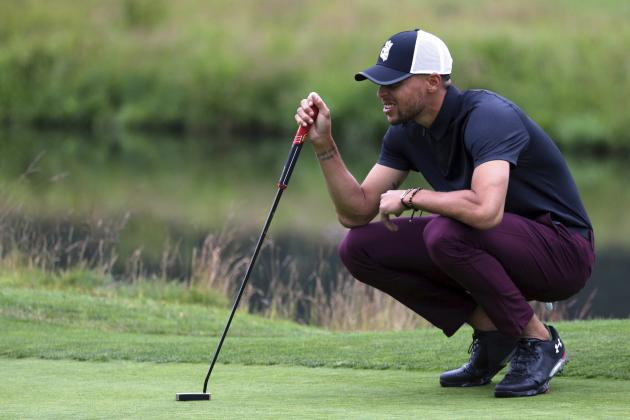 Stephen Curry in Mix, Charles Barkley in Last at American Century Championship