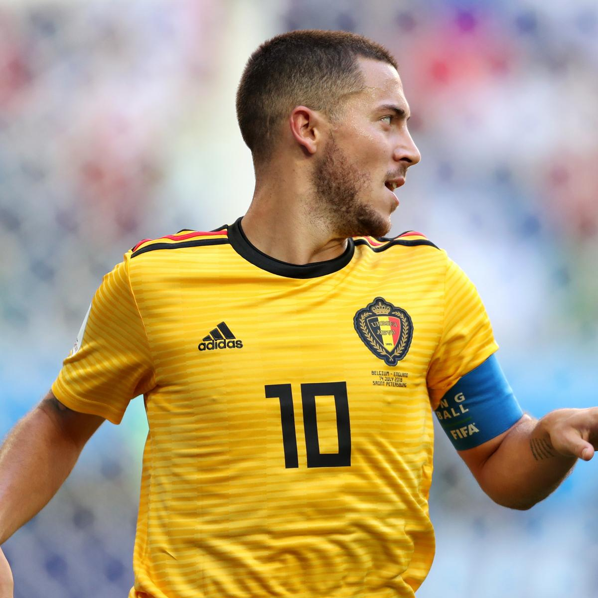 Eden Hazard Powers Belgium Past England in 2018 World Cup 3rd-Place Game