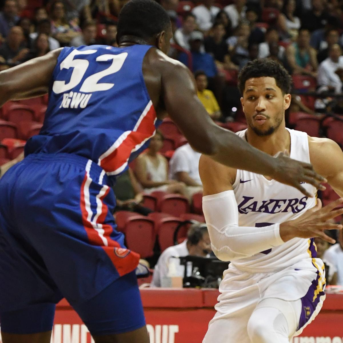 NBA Summer League 2018: TV Schedule for Las Vegas Semifinals
