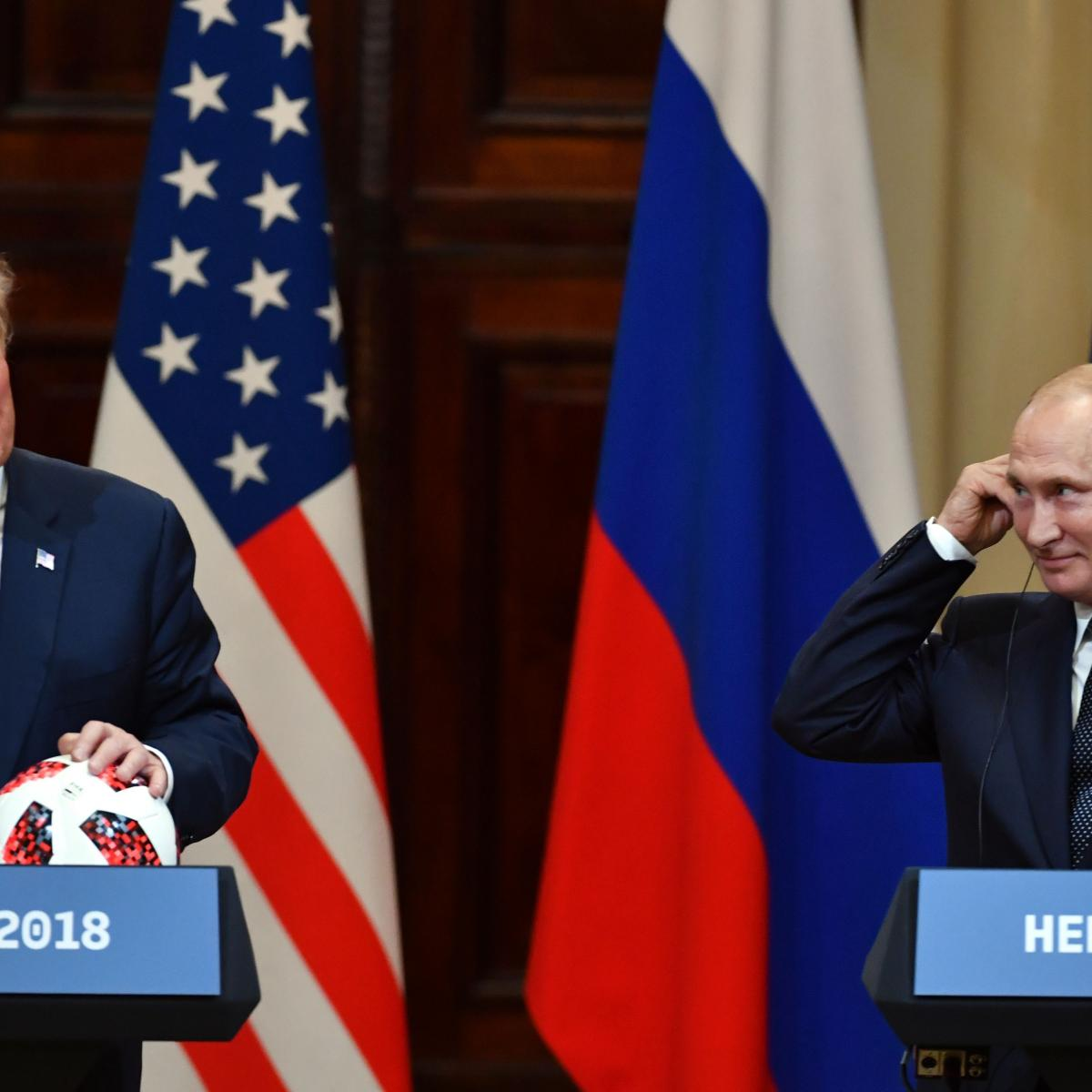 Vladimir Putin Gives Ball to Donald Trump to Honor Joint 2026 World Cup Bid