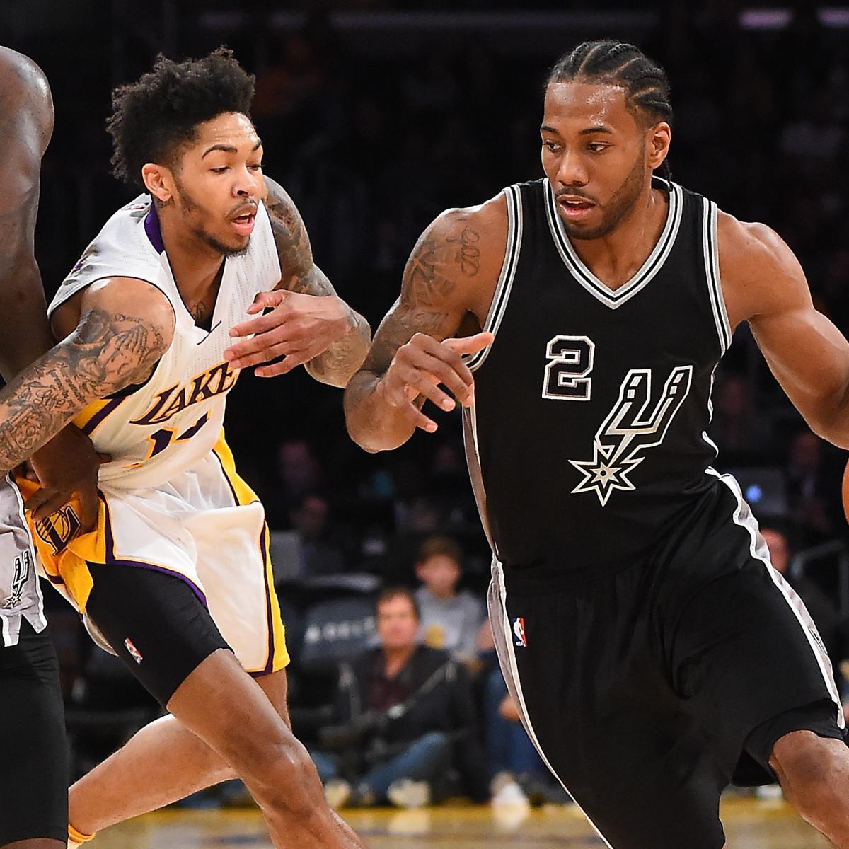 Lakers Rumors: Latest Buzz on Kawhi Leonard and More