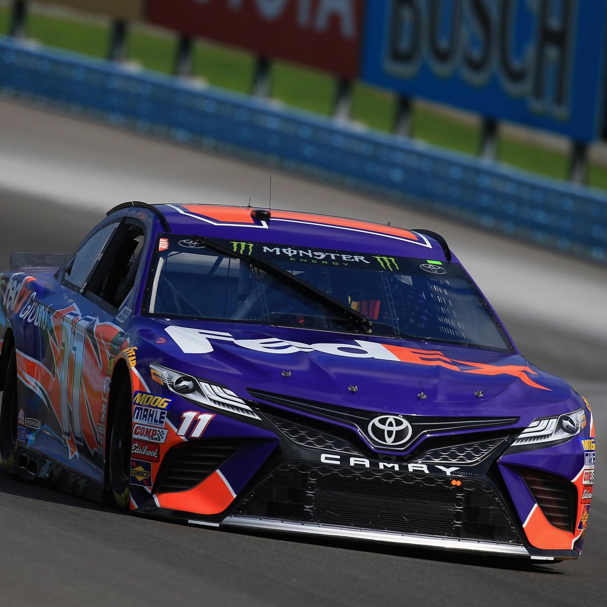 NASCAR at Watkins Glen 2018 Qualifying Results: Denny Hamlin Takes Pole