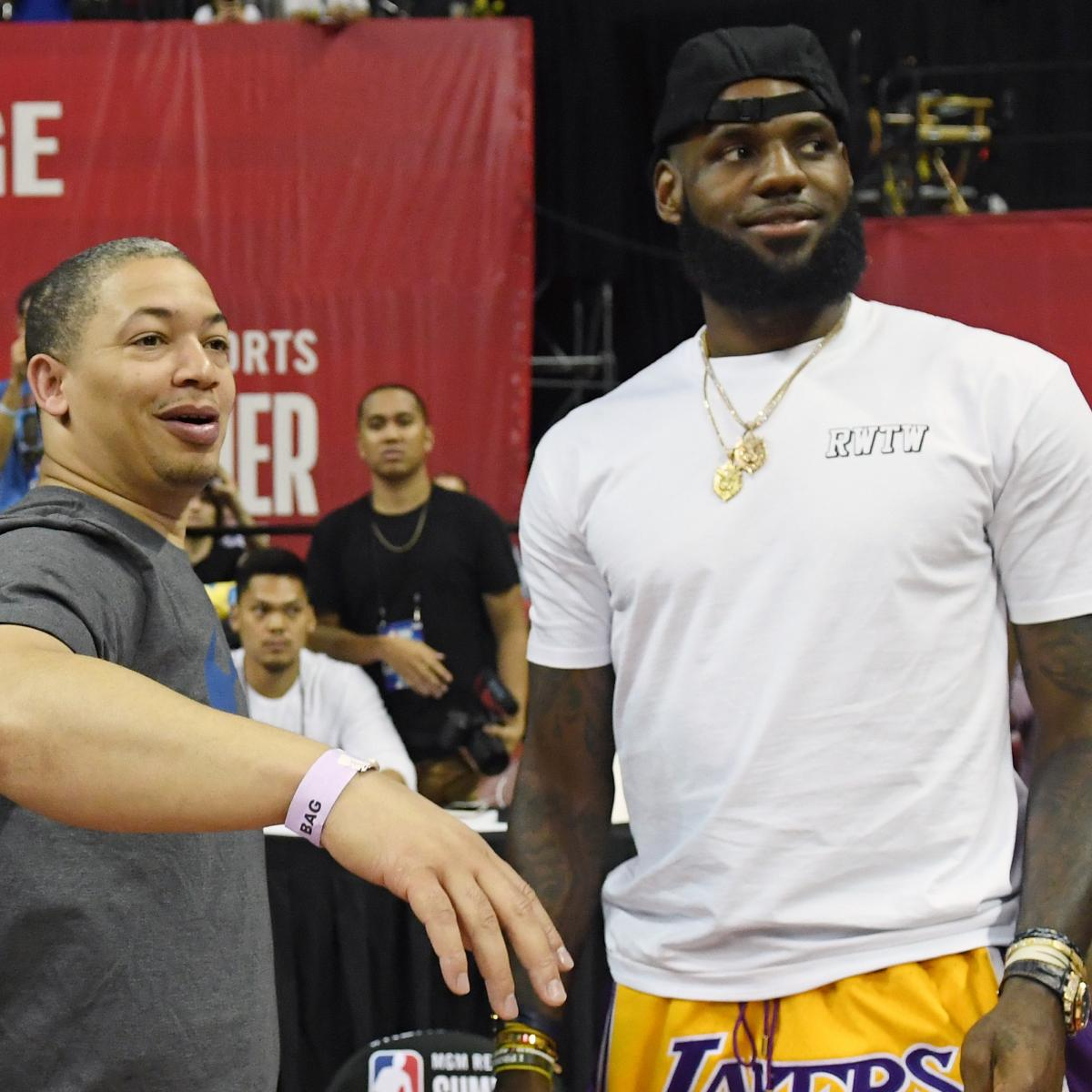 2018-19 NBA Odds: Win Totals Released for LeBron James' Lakers, Warriors, More