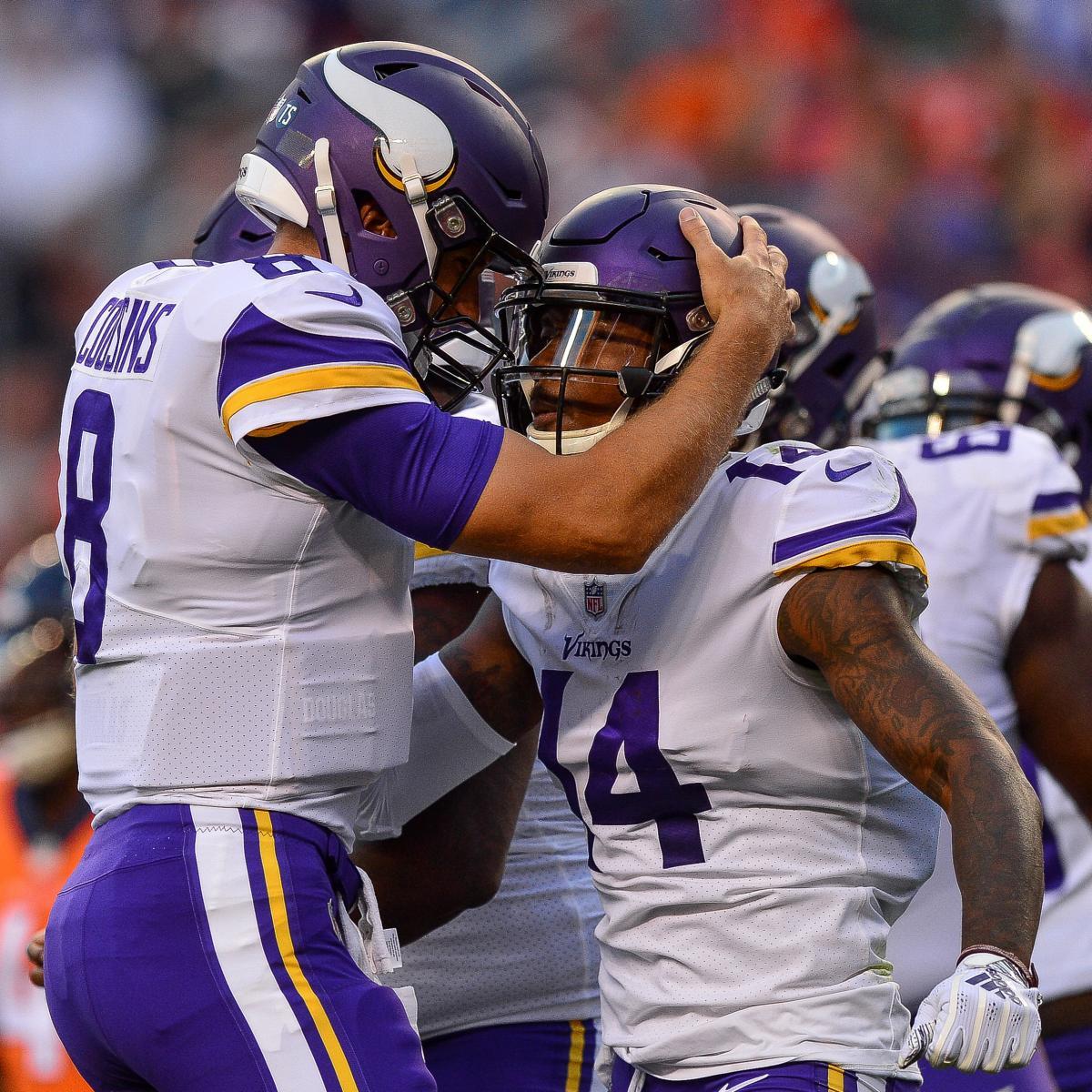 Kirk Cousins, Vikings Beat Case Keenum, Broncos in Each QB's Debut with New Team