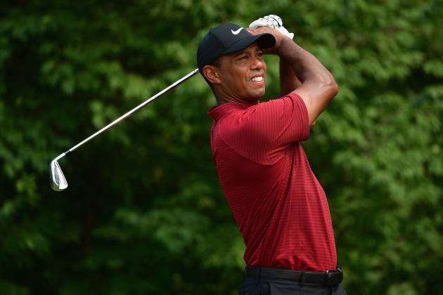 Tiger Woods at PGA Championship 2018: Live Updates for Final Holes