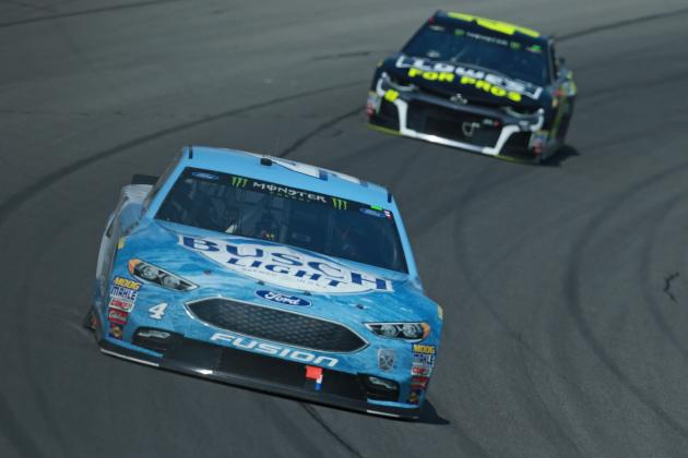 NASCAR at Michigan 2018 Results: Kevin Harvick Earns 7th Win of Season