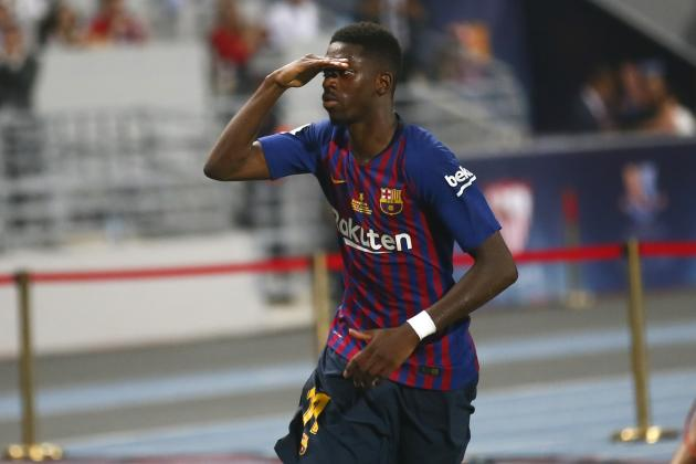 Ousmane Dembele, Barcelona Defeat Sevilla to Win Spanish Super Cup