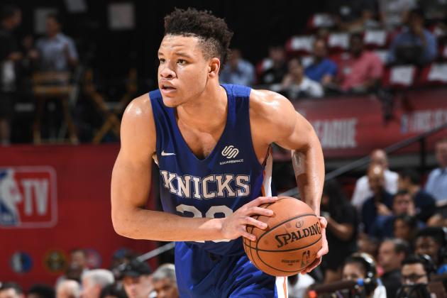 Kevin Knox: 'People Are Sleeping' on Knicks, Predicts 'At Least' 35 Wins