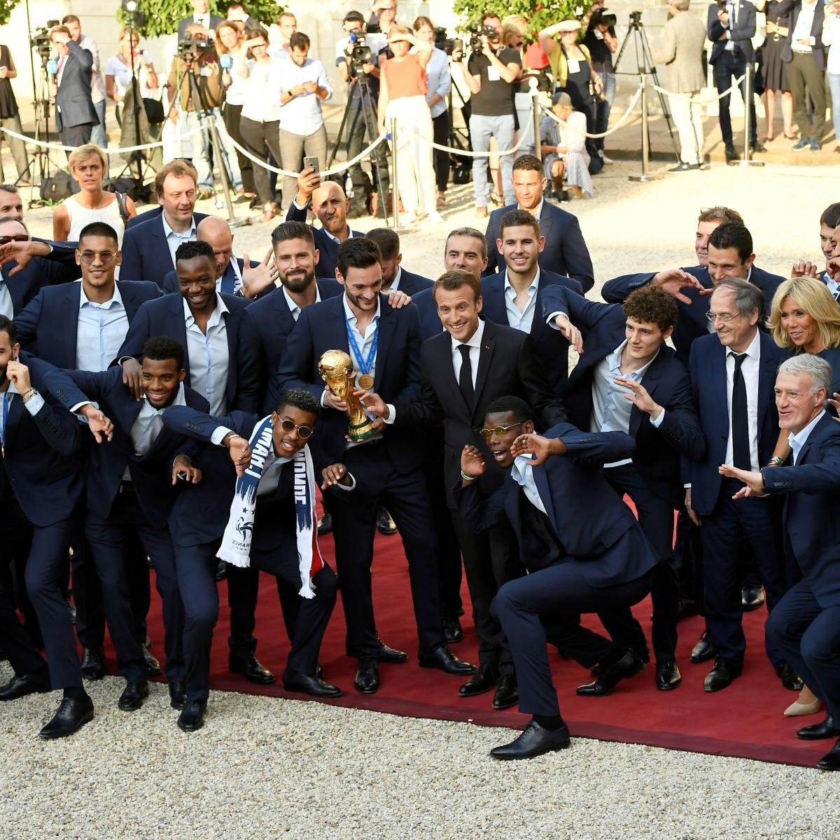 World Cup Winners France Top FIFA Rankings, England Rise, Germany Drop to 15th