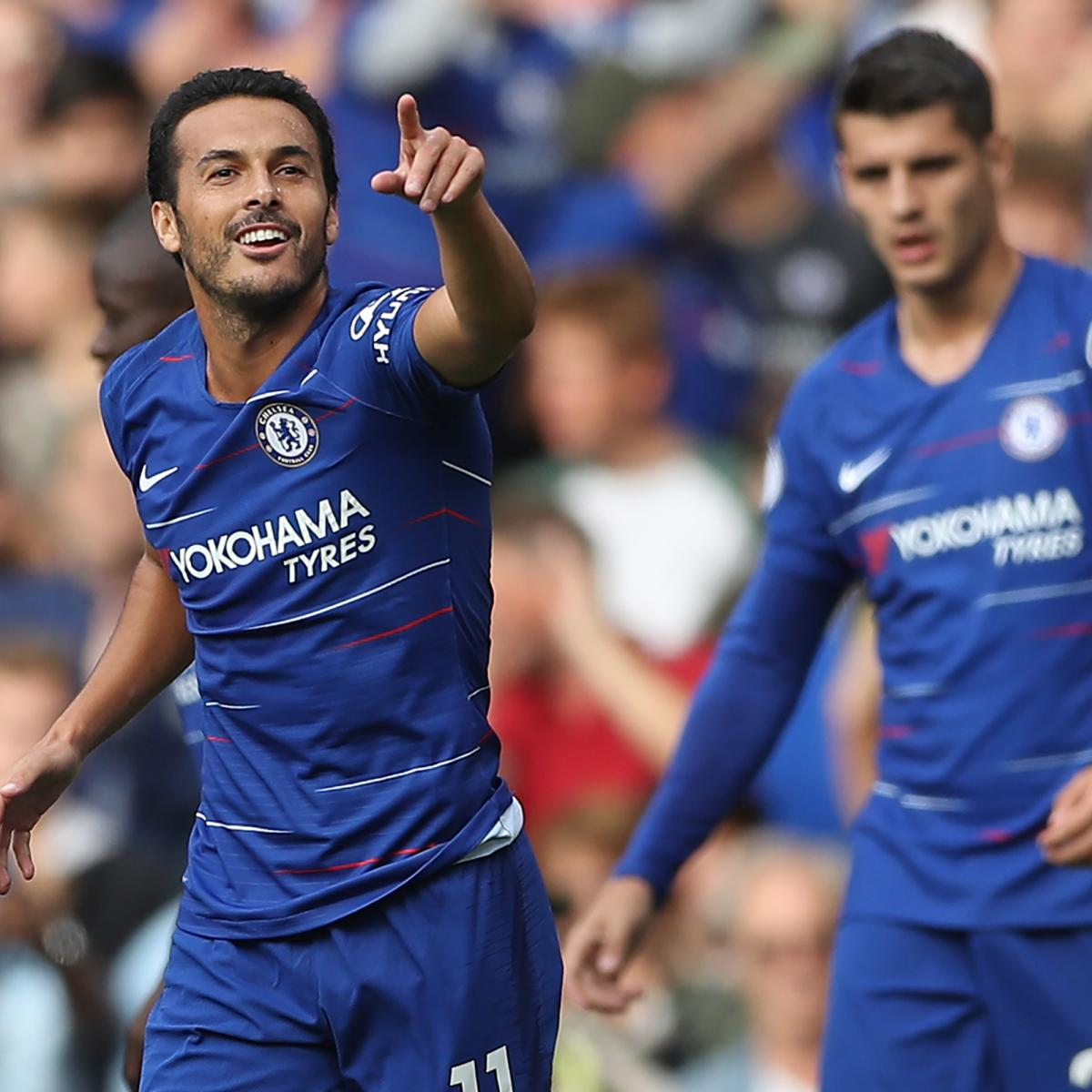 Premier League Results: 2018 EPL Week 2 Scores, Table and Top Saturday Scorers