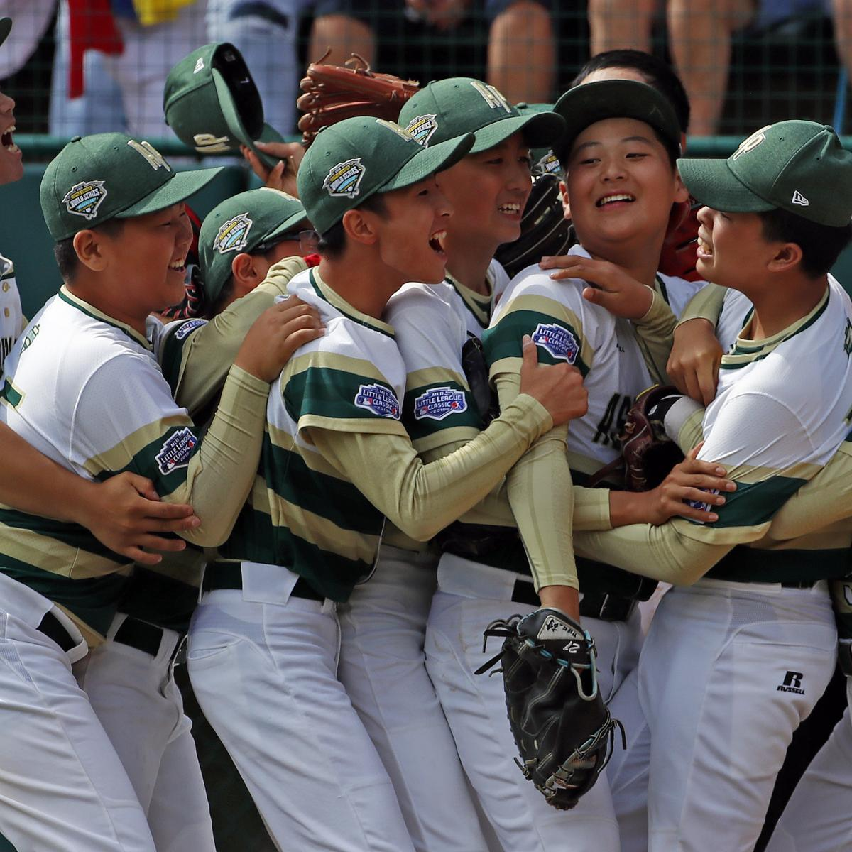 Little League World Series 2018: Championship TV Coverage and Top Players