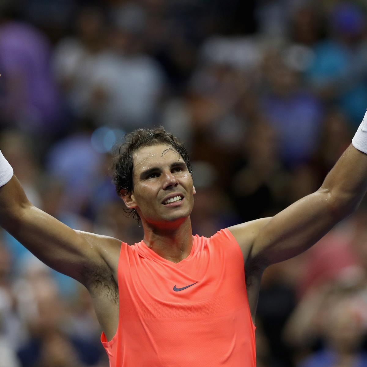US Open Tennis 2018: TV Schedule, Picks for Sunday Afternoon Draw