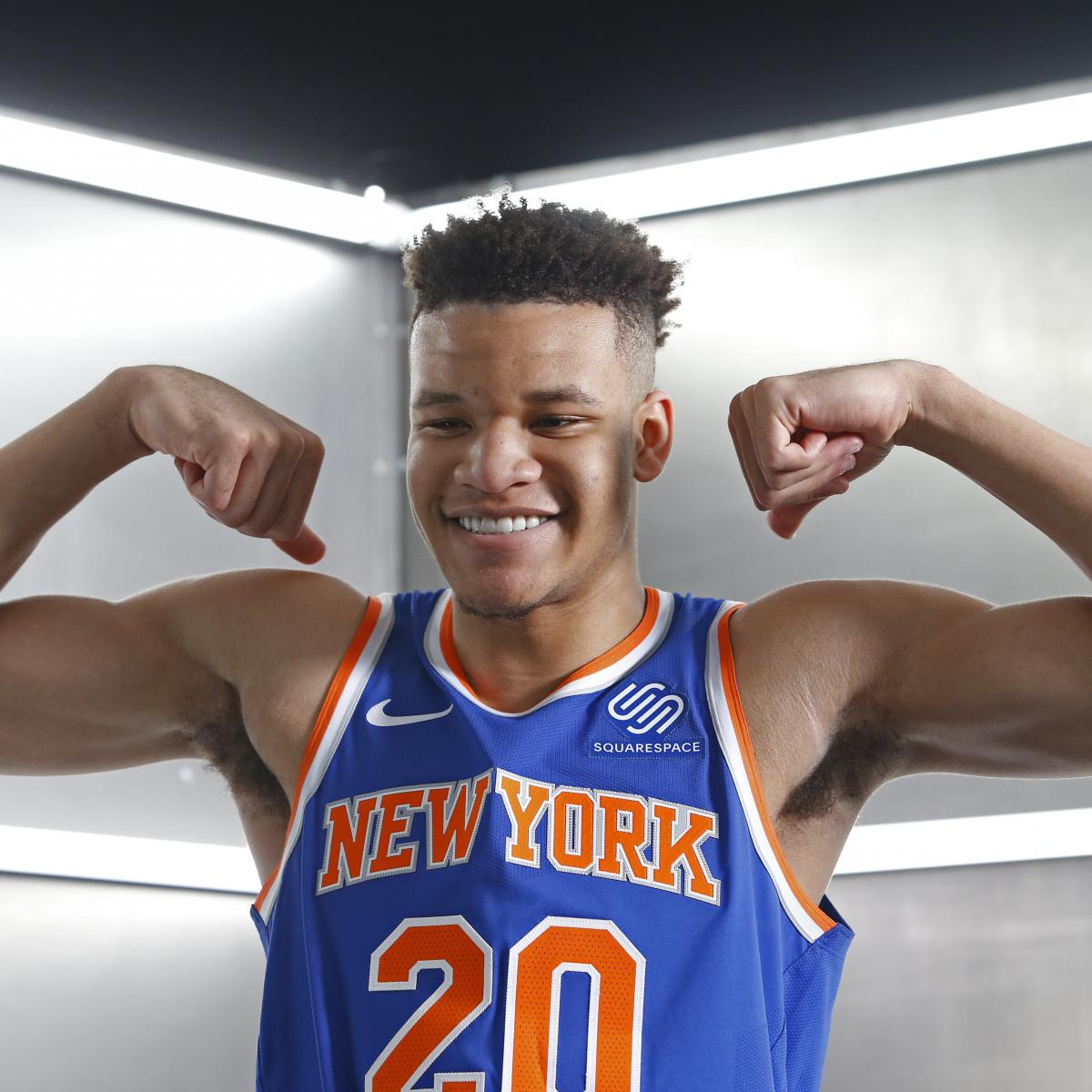 Knicks Rumors: Rookie Kevin Knox Agrees to Multiyear Contract with Puma
