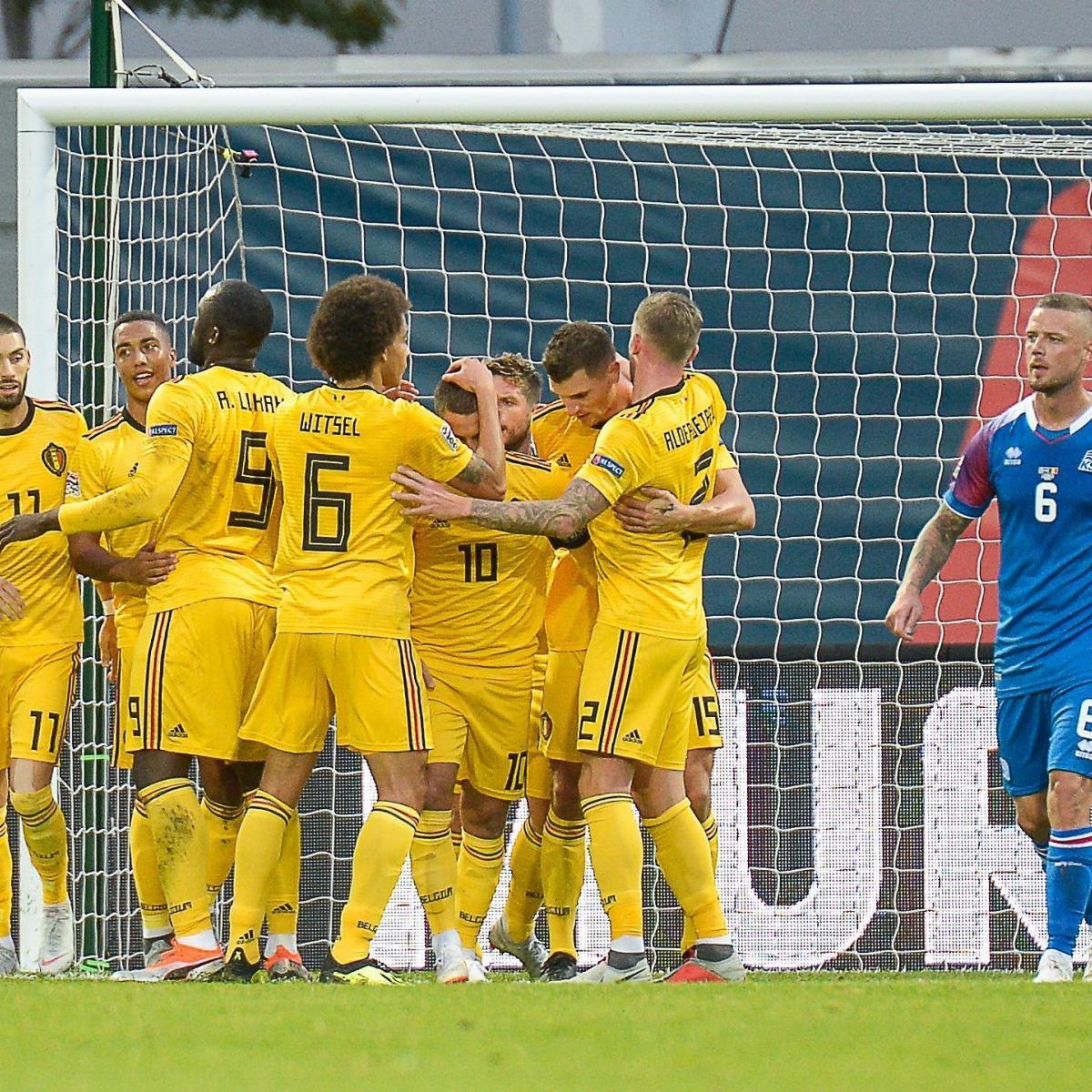 Eden Hazard, Romelu Lukaku Lead Belgium to UEFA Nations League Win vs. Iceland