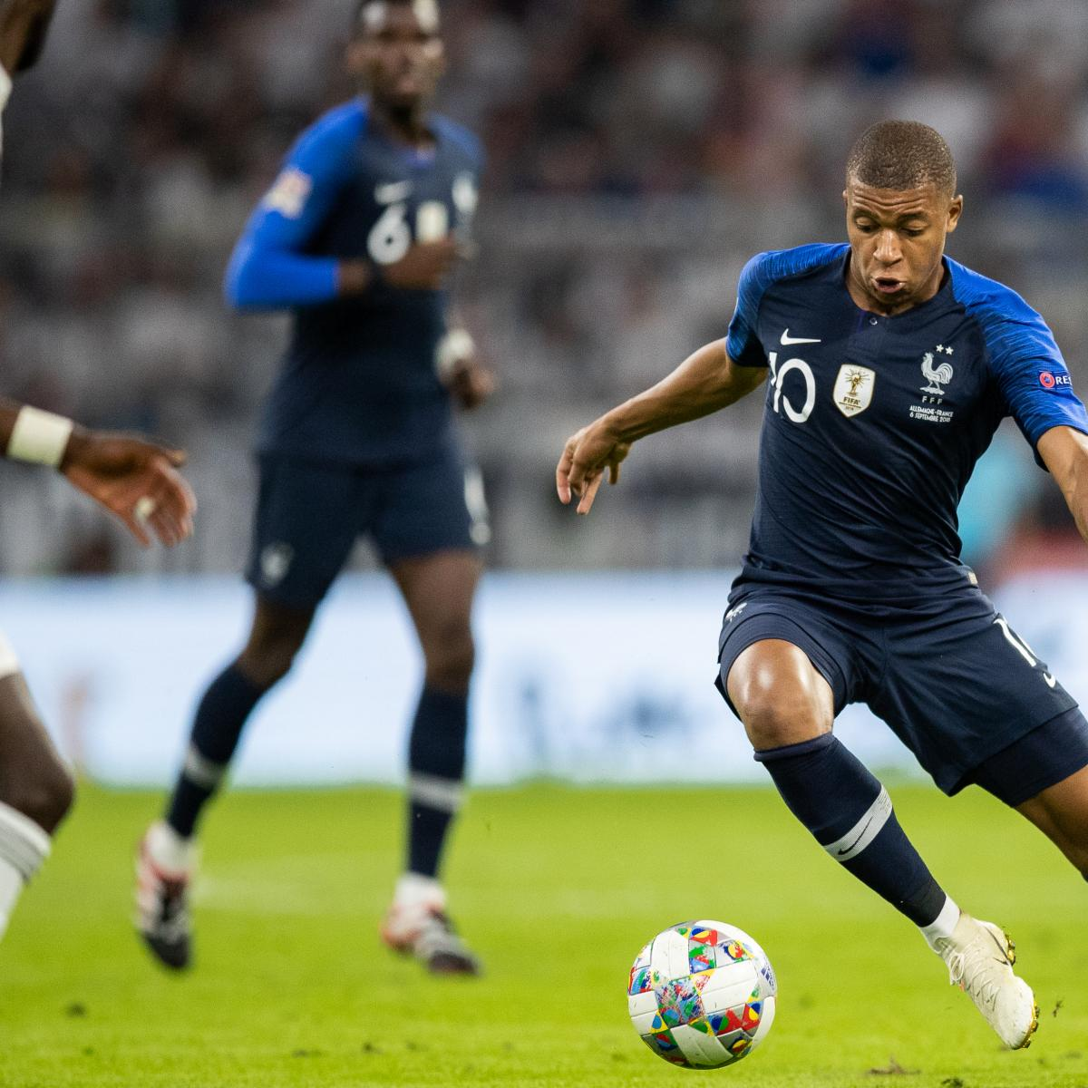 Kylian Mbappe Hoping for a PSG vs. Juventus Champions League Final