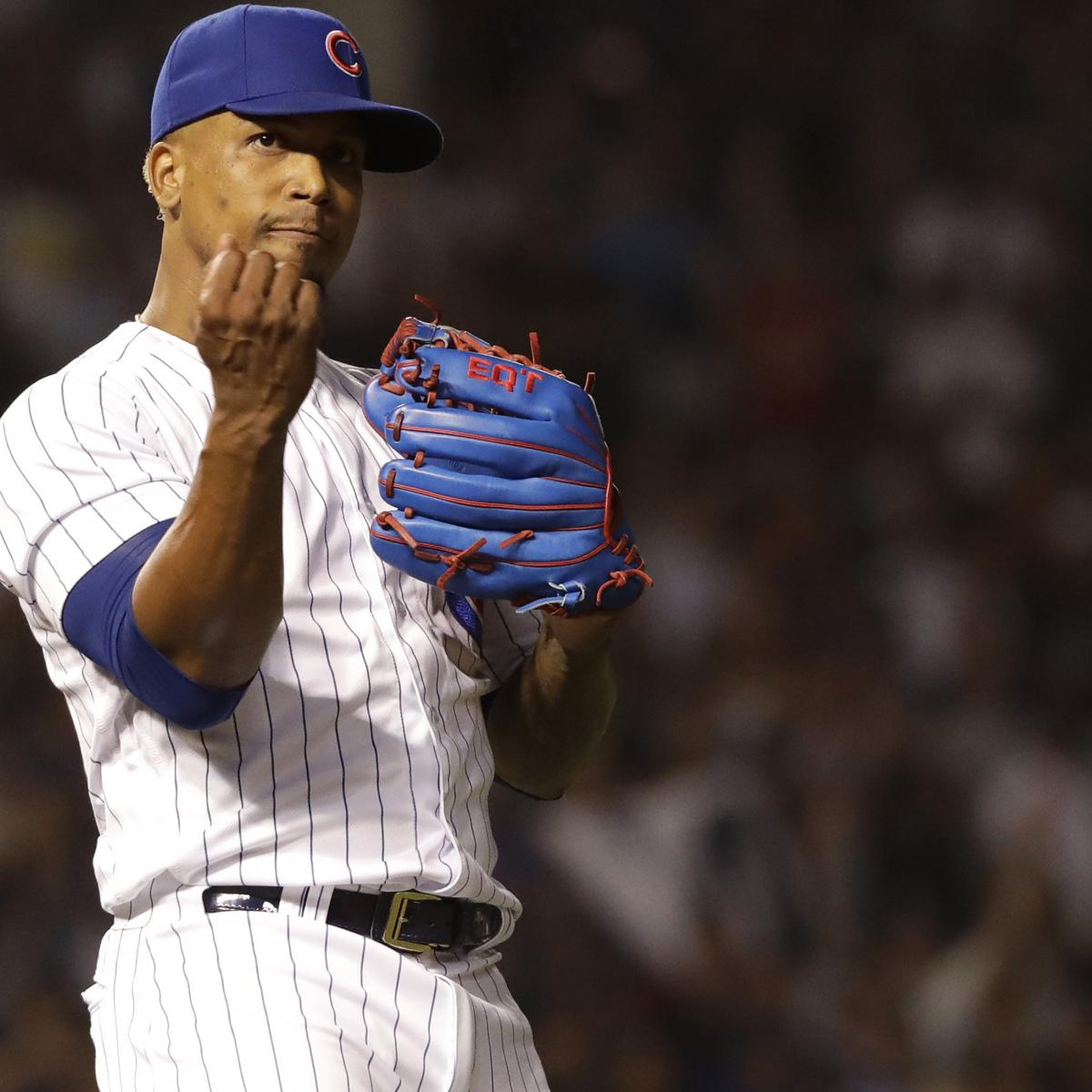 Cubs Closer Pedro Strop out at Least 2 Weeks with Hamstring Injury