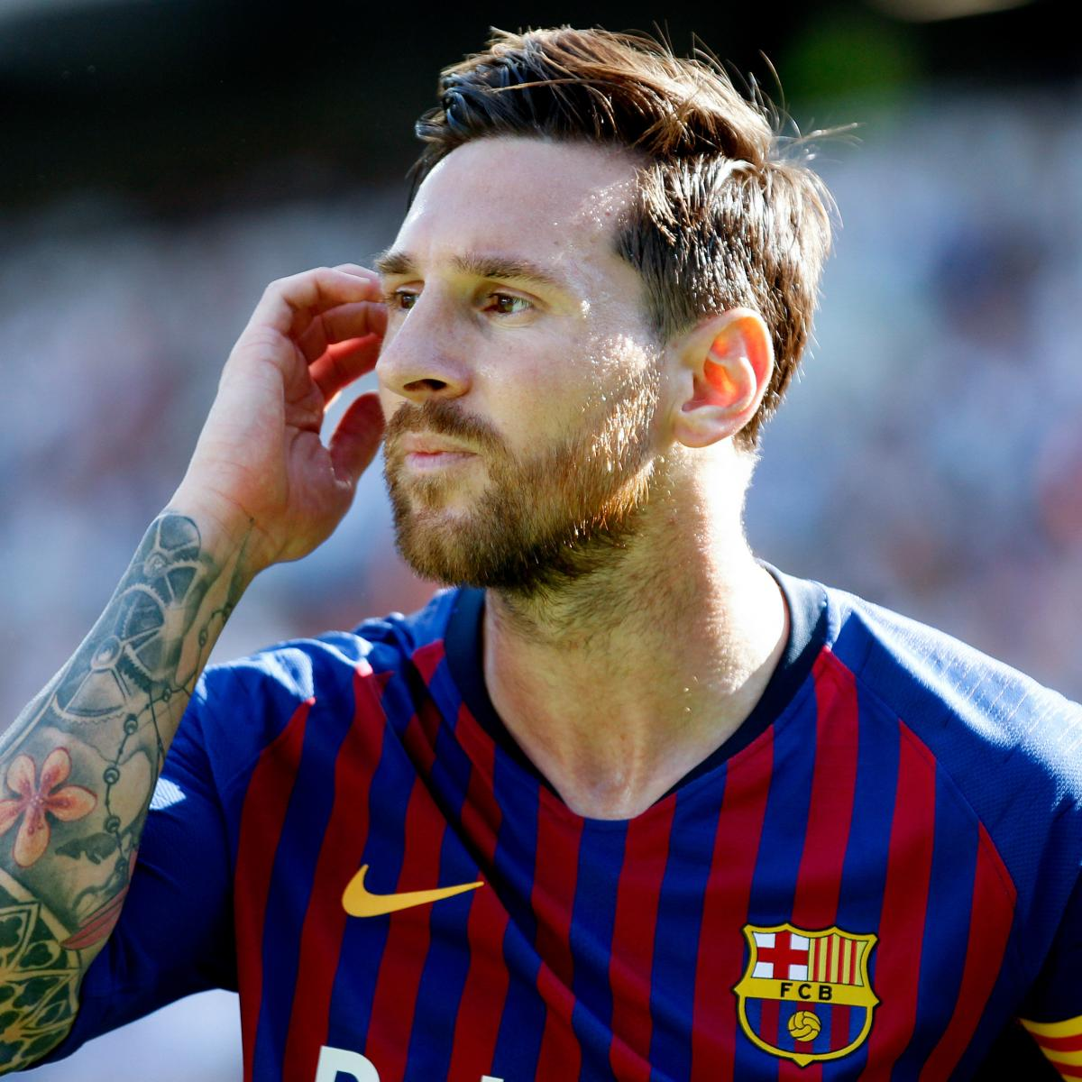 Report: Barcelona's Lionel Messi Wanted by David Beckham, Inter Miami