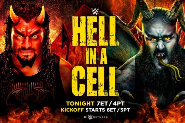 WWE Hell in a Cell 2018: Live Stream, WWE Network Start Time and Match Card