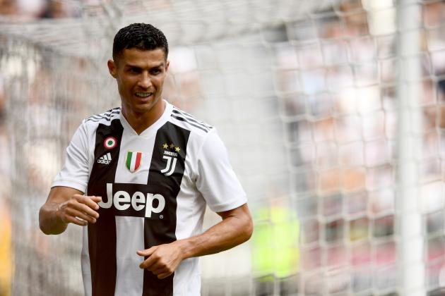 Cristiano Ronaldo 'Happy' to Score 1st Juventus Goal, 'Was a Little Tense'