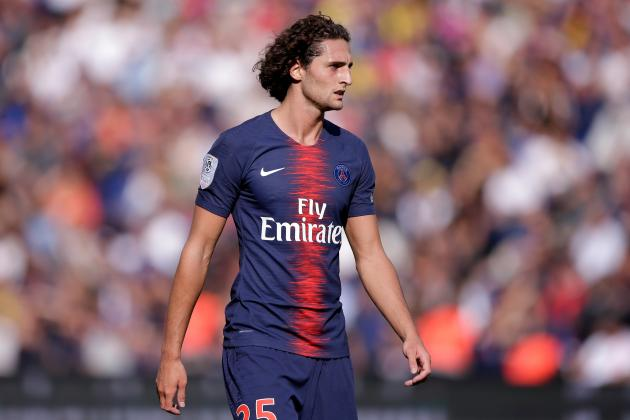 Manchester City Reportedly Eye Adrien Rabiot Amid Rumours of PSG 'Breakdown'