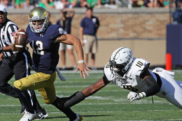 Notre Dame, Clemson Among Favorites in College Football Week 4 Odds