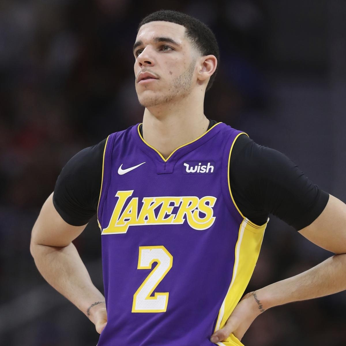 Lakers News: Lonzo Ball Won't Be a Full Participant in Camp Due to Knee Injury