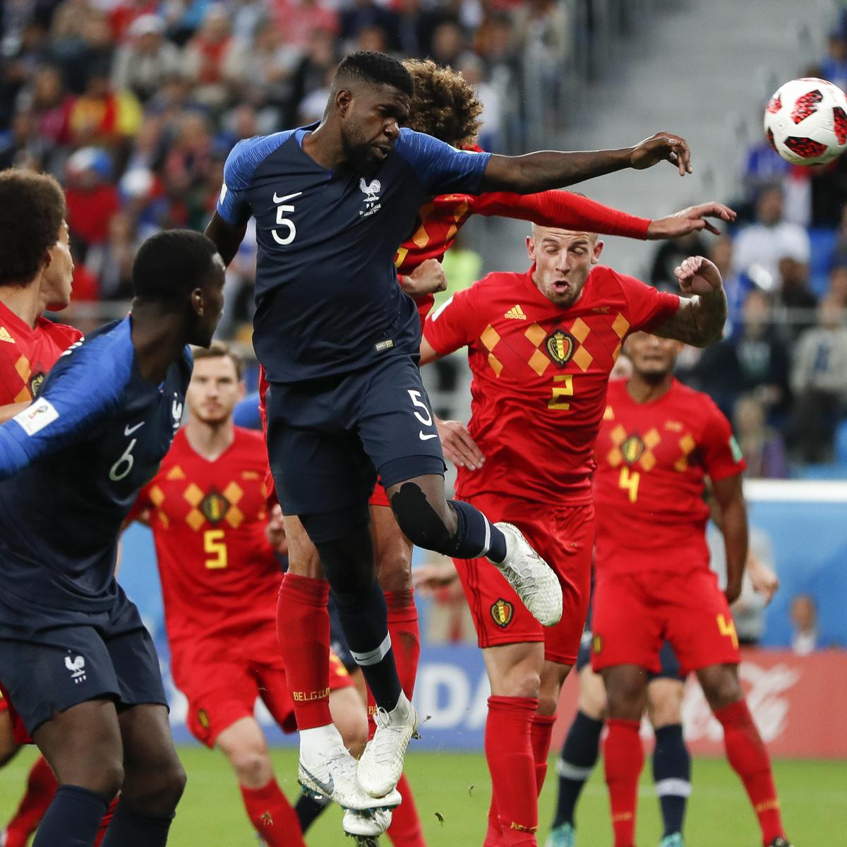 Belgium Join France on Top Spot of Latest FIFA World Rankings, Germany Climb