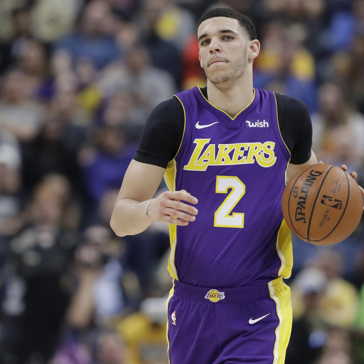 Lonzo Ball Cleared by Lakers Medical Staff After Knee Injury, Surgery