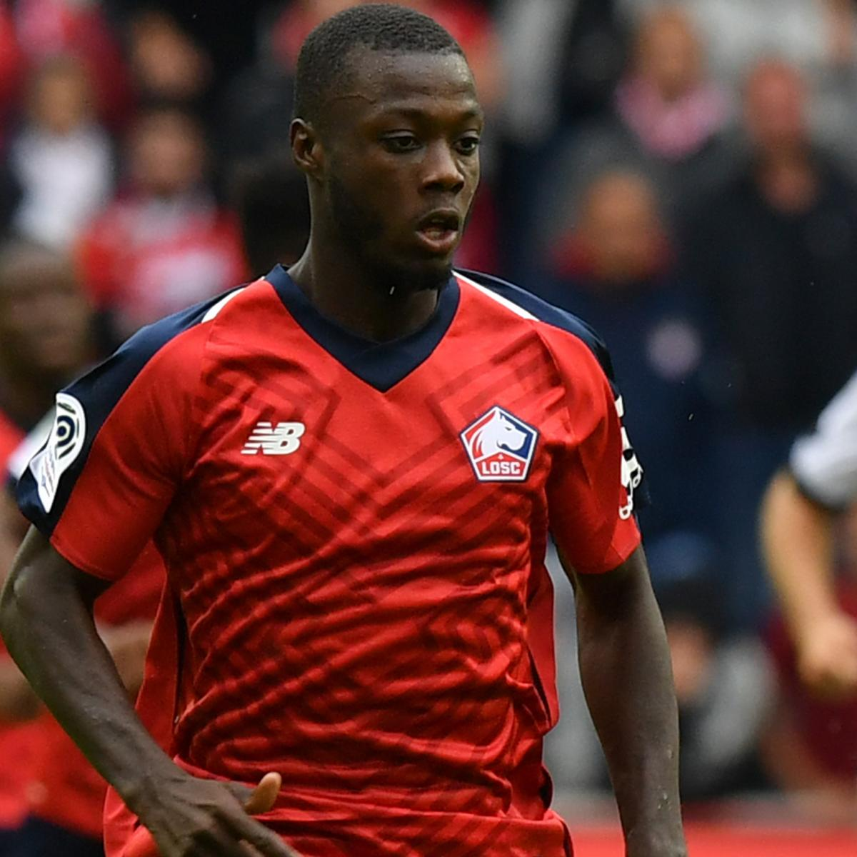 Lille Reveal Barcelona Interest in Nicolas Pepe Amid Transfer Rumours