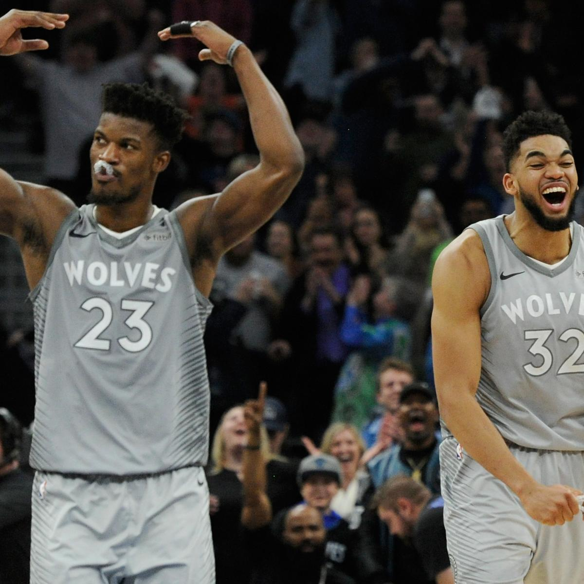 Report: Jimmy Butler Trade Focus for Timberwolves After Karl-Anthony Towns Deal