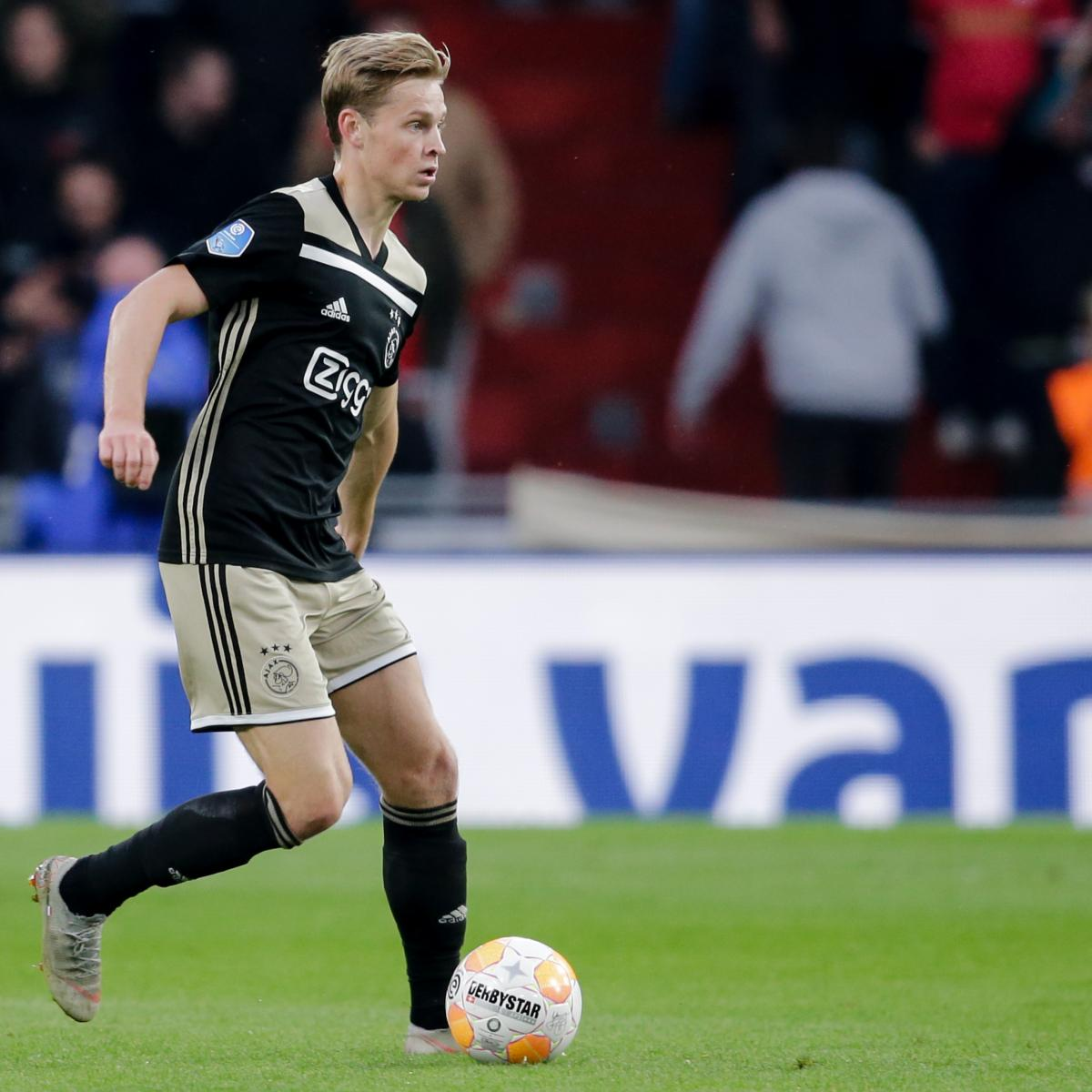 Barcelona Reportedly Confident of Frenkie de Jong Deal Amid Real Madrid Rumours