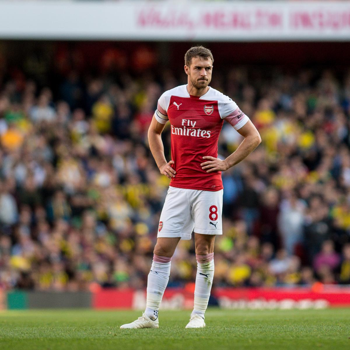 Liverpool Transfer News: Aaron Ramsey Eyed in Latest Rumours After Failed Bid