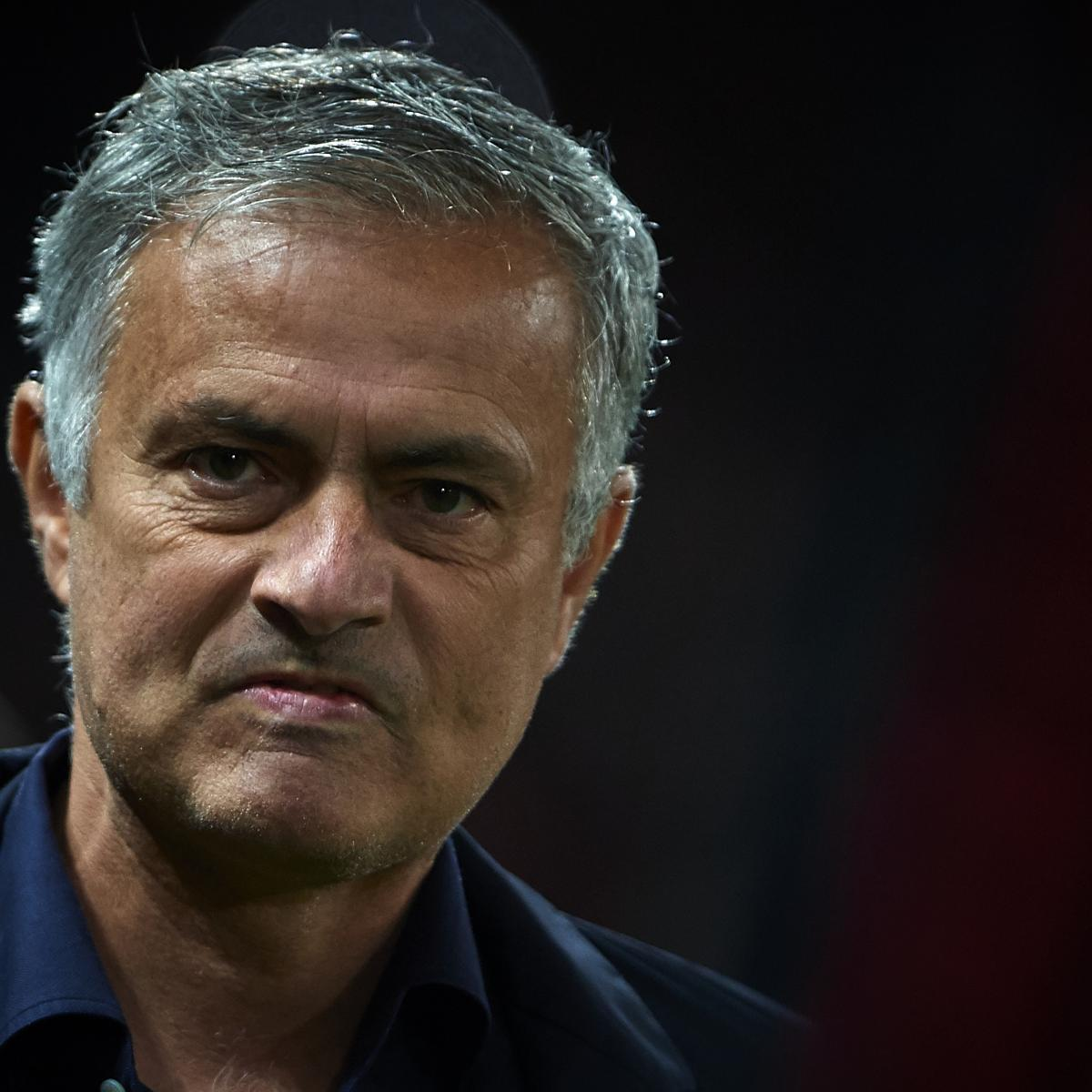 Report: Jose Mourinho to Be Sacked by Manchester United After Newcastle Match