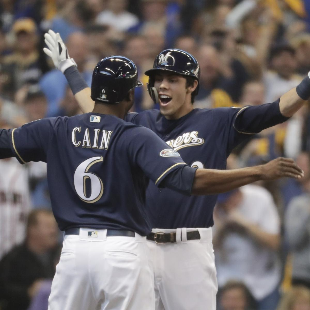 Christian Yelich, Brewers Take 2-0 Series Lead with Game 2 Win vs. Rockies