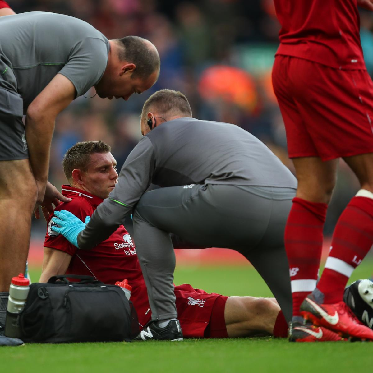 Liverpool's James Milner Reportedly Set for Month out with Hamstring Injury
