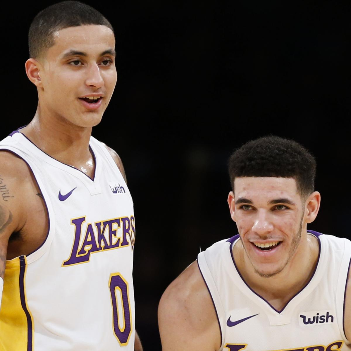 Lakers' Kyle Kuzma Impressed with Lonzo Ball After He Did 'Nothing All Summer'