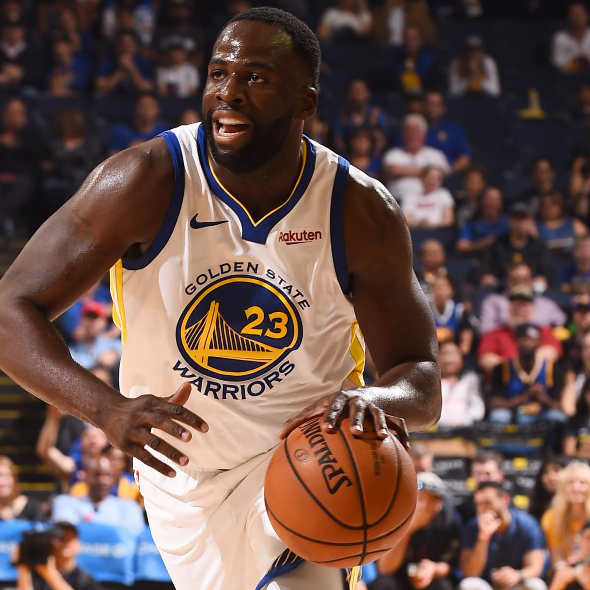 Draymond Green Talks New Contract, Possible Trade and Retiring with Warriors