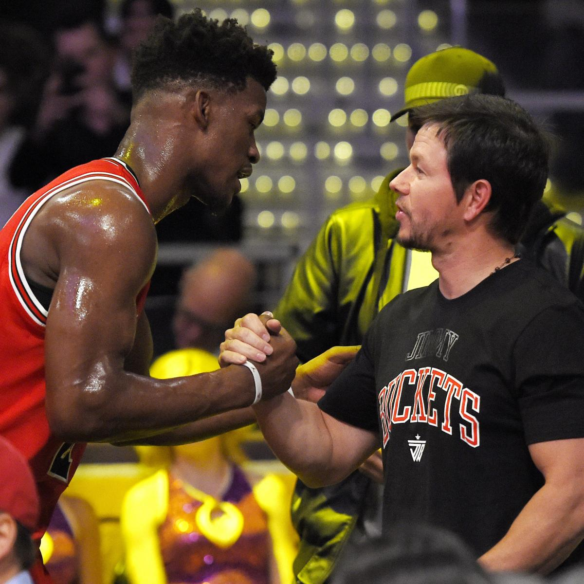Report: Bulls Insider Says Jimmy Butler Changed Due to Mark Wahlberg Friendship